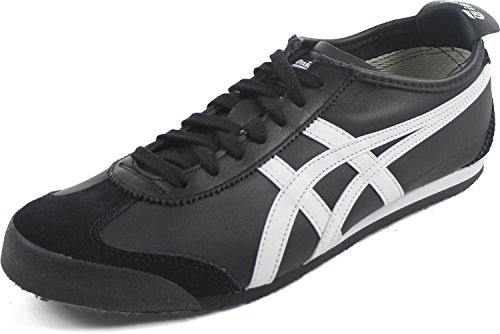 newest f98c9 3b13a Onitsuka Tiger Mexico 66 Fashion Sneaker, Black/White, 9 M Men's US/10.5  Women's M US