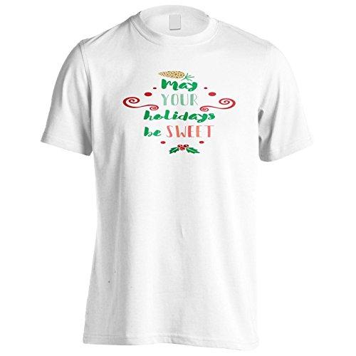 Mögen Deine Ferien Süß Sein Herren T-Shirt n368m