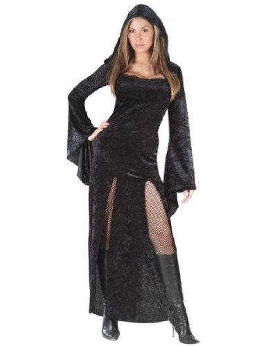 Classic Witch Costumes Plus Size (SULTRY SORCERESS ADULT PLUS)