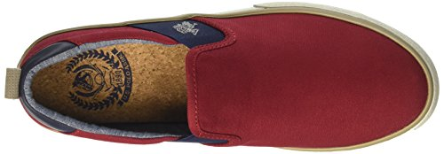 U.S.POLO ASSN. Herren Turner Slip On Rosso (Red)