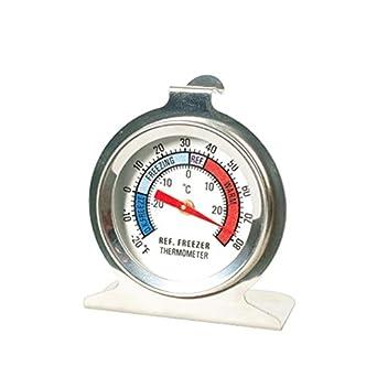 ounona acero inoxidable nevera/congelador termómetro, Inox ...