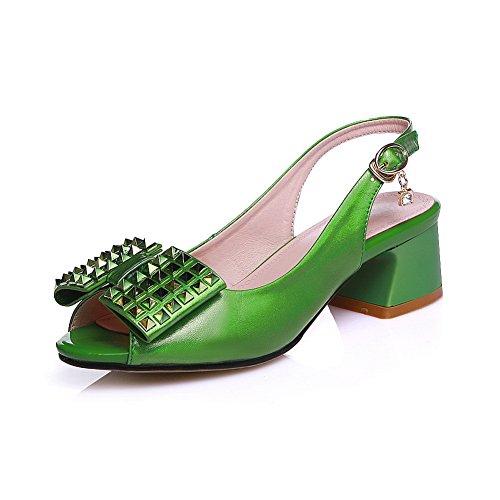 Green Verde 35 Ballerine Donna AdeeSu AqtYw