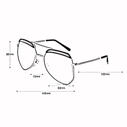 Masculino Color De Hormiga Luz WX Irregulares Hembra De Grande Montura T2 Gafas Gafas xin Gafas T3 Polarizada Hipster Sol BwC71q