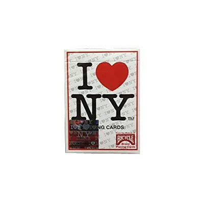 Bicycle I Love NY Playing Cards: Toys & Games