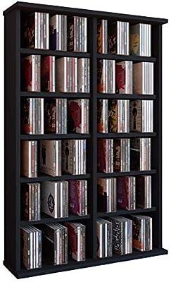 VCM Ronul-Torre para CD/DVD, para 300 CDs, sin Puerta de Cristal ...