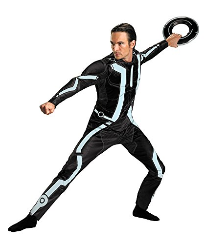 Tron Legacy Deluxe 42-46 Adult Mens (Adult Tron Costume)