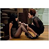 Sucker Punch Vanessa Hudgens as Blondie sitting on floor with Carla Gugino as Madam Gorski 8 x 10 Inch Photo
