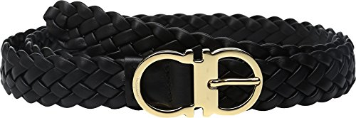 Salvatore Ferragamo Women's 23B405 Belt Nero Belt by Salvatore Ferragamo
