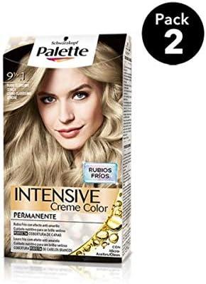 Palette Intense - Tono 9 1/2.1 Rubio Clarísimo Ceniza - 2 uds ...