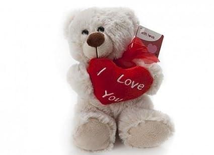 20,32 cm bestdeal Henry oso de peluche suave con corazón de día de San