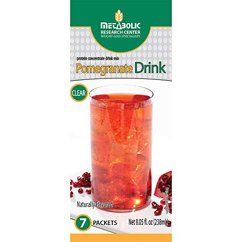 (Metabolic Research Center Pomegranate Protein Drink, 7 Count)