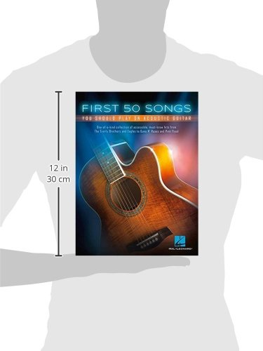 Amazon.com: First 50 Songs You Should Play On Acoustic Guitar ...