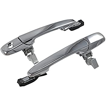2005-2014 Ford Mustang Carbon Fiber Outside Exterior Complete Door Handles
