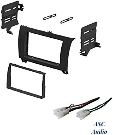 No Factory Premium Amp//JBL Other ASC Audio Car Stereo Dash Install Kit and Wire Harness for Installing an Aftermarket Double Din Radio for 2007 2008 2009 2010 2011 Toyota Camry