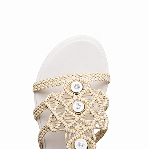 Beige Misssasa Donna Pandofole Boemia Elegante wg1pq1O8