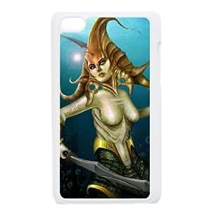 iPod Touch 4 Case White Dota2 NAGA SIREN DIY Gift pxf005-3596311