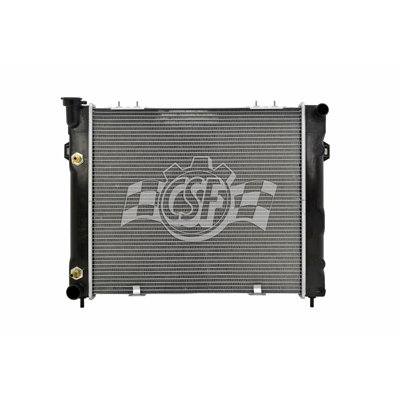 MAPM Premium Quality RADIATOR; L6 [WITH CLIP MOUNT FAN SHROUD] by Make Auto Parts Manufacturing