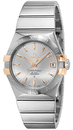 Wrist Omega Automatic Watch (OMEGA wristwatch Constellation Co-Axial automatic 123.20.38.21.02.004)