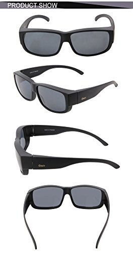 Gafas sol hombre para Duco Negro de A61xvp