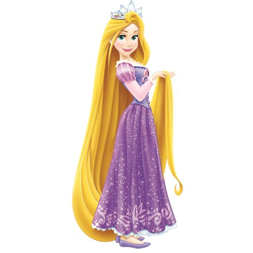 RoomMates Disney - Princess Rapunzel Peel and Stick Giant Wall Decals