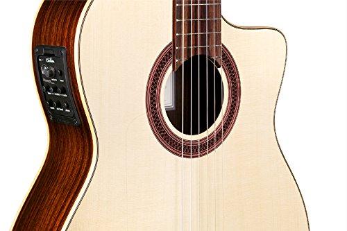 Cordoba GK Studio Negra [Gipsy Kings Signature Model] Acoustic Electric Nylon String Flamenco Guitar