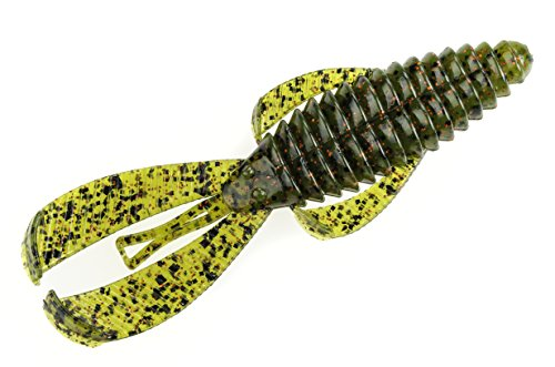 Strike King Rage Tail Bug Lure, Watermelon Red Flake, 4-Inch from Strike King