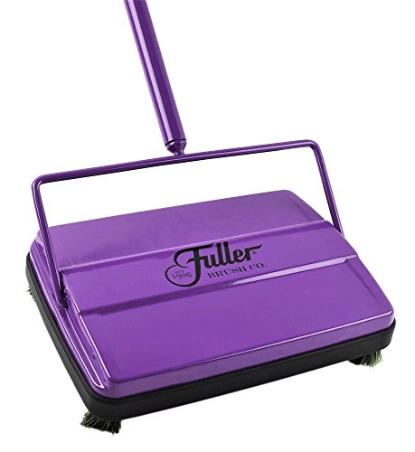 "Fuller Brush 17032 Electrostatic Carpet and Floor Sweeper-9"" Cleaning Path-Purple"