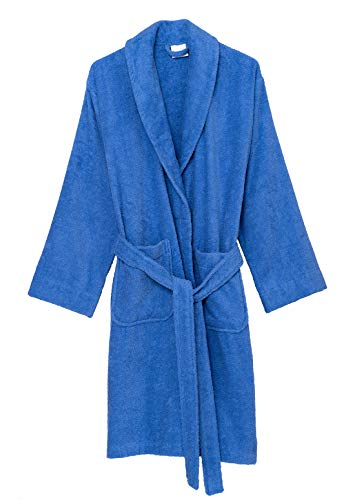 (TowelSelections Women's Robe, Turkish Cotton Short Terry Bathrobe Small Persian Jewel)
