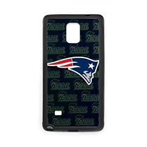 Handsome Fashion Design New England Patriots Samsung Galaxy note 4 Case Cover (Laser Technology)