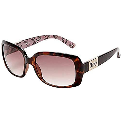 (Juicy Couture Womens Juicy Miller Sunglasses OS Tortoise w/Brown Gradient)