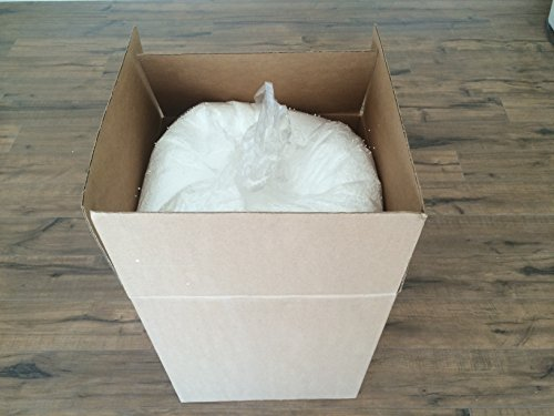 (FREE SHIPPING) 3MM Extremely Comfortable Super Dense Premium X-white Micro Approx. 100 Liters 3.5 Cubic Feet Virgin Micro Styrofoam Bead Bean X-small Four Cubic Foot Virgin Bean Bag Filler Refill - The Bag Hut