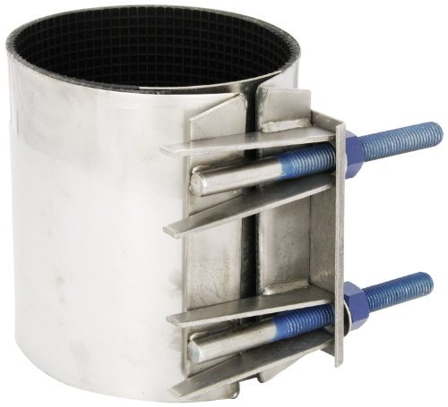 Smith-Blair Stainless Steel Repair Clamp, Full Circle, St...