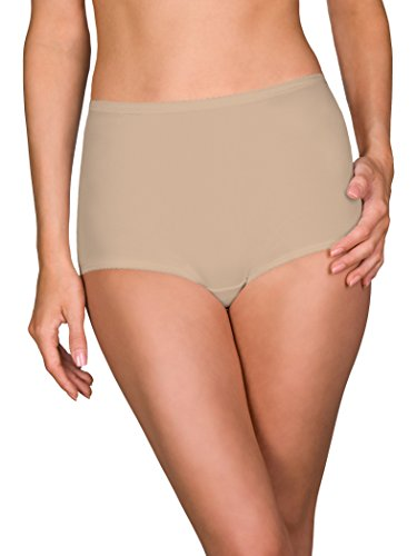 Shadowline Women's Spandex Classic Brief, Nude, (Lined Spandex Briefs)