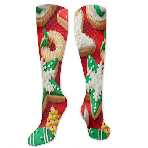 Stretch Socks Best Christmas Cookies Hot Winter Warmth For Women Men Running