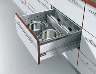 Blum Tandembox Drawer Slides D Height Double Wall 550mm (21 5/8u0026quot;)