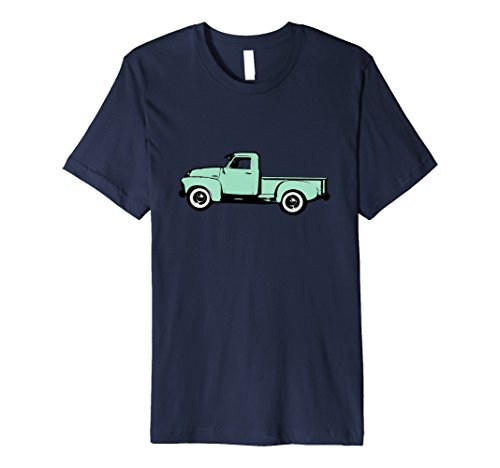Old Pickup Truck T-Shirt Classic Blue Pickup Truck Antique (Old Pickup)