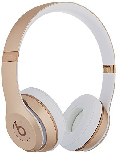 Beats by Dr. Dre - Beats Solo3 Wireless Headphones - Gold(Renewed) (Gold Beats Wireless)