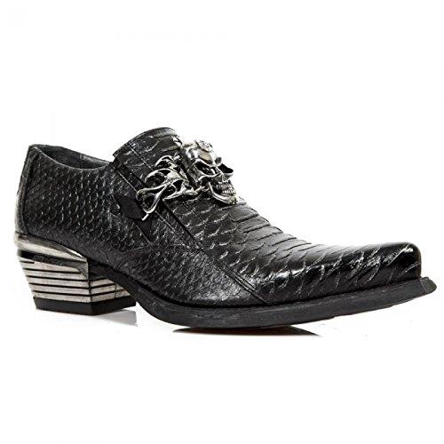 New Rock Boots M.wst020-s1 Urban Rock Herren Sneeker In Acciaio Colorato