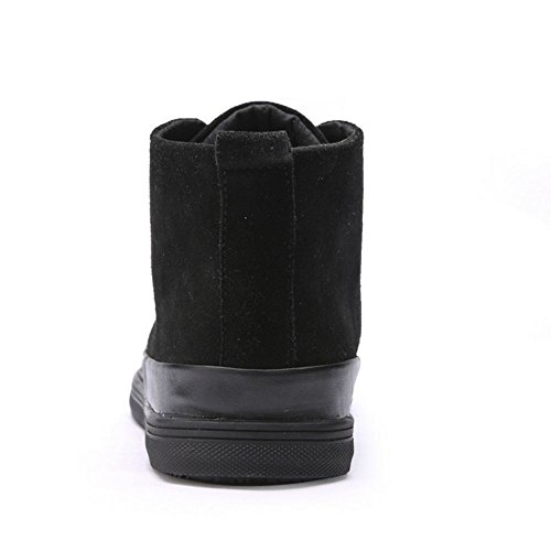 Black TAOFFEN Men's Boots Shoes Casual Fashion CaXnTqXwU