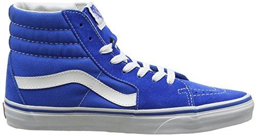 Vans Ua Sk8-Hi, Zapatillas Altas para Hombre Azul (Suede/canvas Imperial Blue/true White)