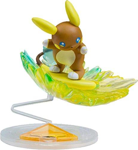 Takaratomy Pokemon Sun & Moon EZW-02 Alolan Raichu Z-Move Stoked Sparksurfer Lightning Surf Ride Action Figure