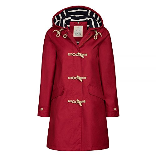 Seasalt Extra Long Seafolly Womens Jacket AW17 Redcurrant
