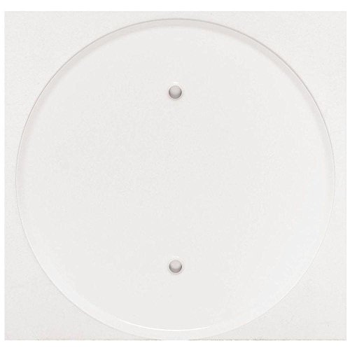 Wholesale Mulberry (Mulberry 40431 Smooth Enamel Steel Ceiling Blank Cover 3 Inch x 3 Inch)