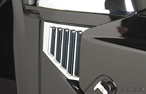 Putco 403408 Chrome Side Vent Covers for Hummer H2 / H2 SUT