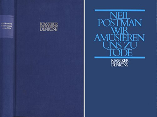 """the theme behind neil postmans amusing ourselves to death I feel like i'm caught in a whirlpool of """"amusing ourselves to death,"""" as author  neil postman predicted 30 years ago in the book, postman."""