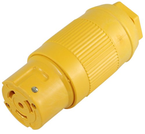 Conntek 50A 125V SS1-50R 3 Wires Connection Marine Shore Power Female Locking Connector