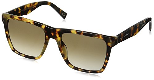 Marc Jacobs Women's Marc119s Square Sunglasses, Spotted Havana/Brown Gradient, 54 - Marc Brown Jacobs