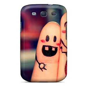 Defender Case With Nice Appearance (beautifulfinger) For Galaxy S3