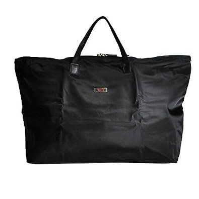 3a3bf7f1f9 Amazon | [トゥミ]TUMI 14829-D ジャスト・イン・ケース・トート 折りたたみ ナイロントートバッグ BLACK ブラック  [並行輸入品] | トートバッグ