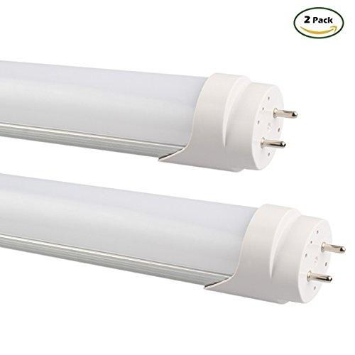 B2ocled-2FT T8 LED Tube Light 9W 6500K,Dual-End Powered (...